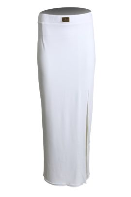 Evening skirt, classic with side slit