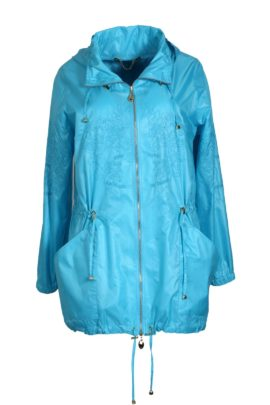 Summer cult parka, double microfibre, turquoise
