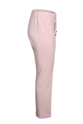 Logo trousers, apricot, Classic double jersey
