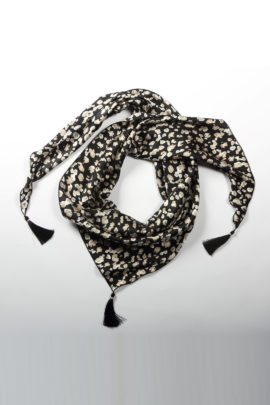 Scarf, Modern Print, pure silk