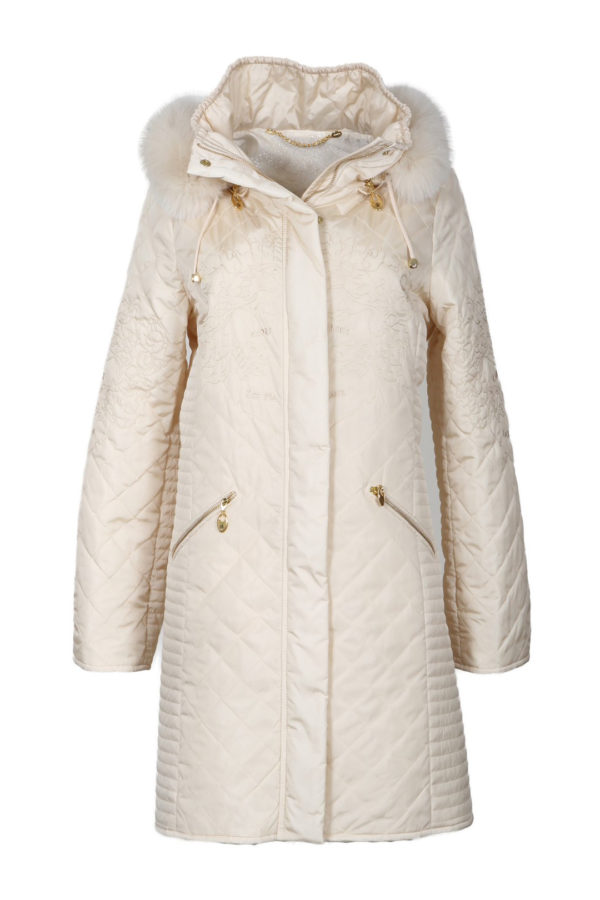 Cult parka, heraldic-embroidery