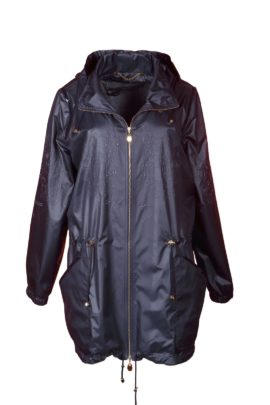 Summer cult parka, double microfibre, navy