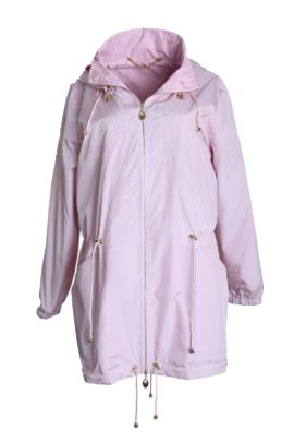 Summer cult parka, double microfibre rose quartz