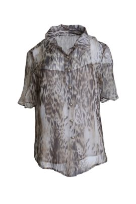 Blouse savanna with integrated top