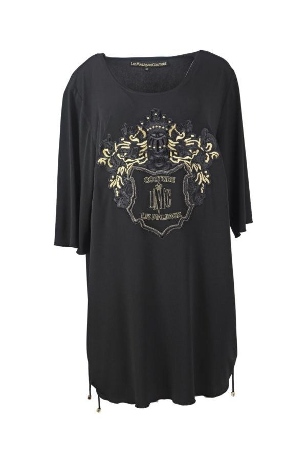 Long shirt heraldic, LMC-XL Edition, black