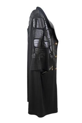 Oversize Longblazer with Croco patches, LMC-XL Edition, black