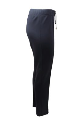 Trousers, Classic double jersey with gold logo LMD and cord