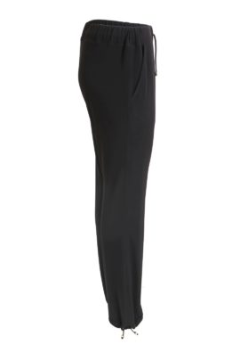 Jogger Pants, double jersey black
