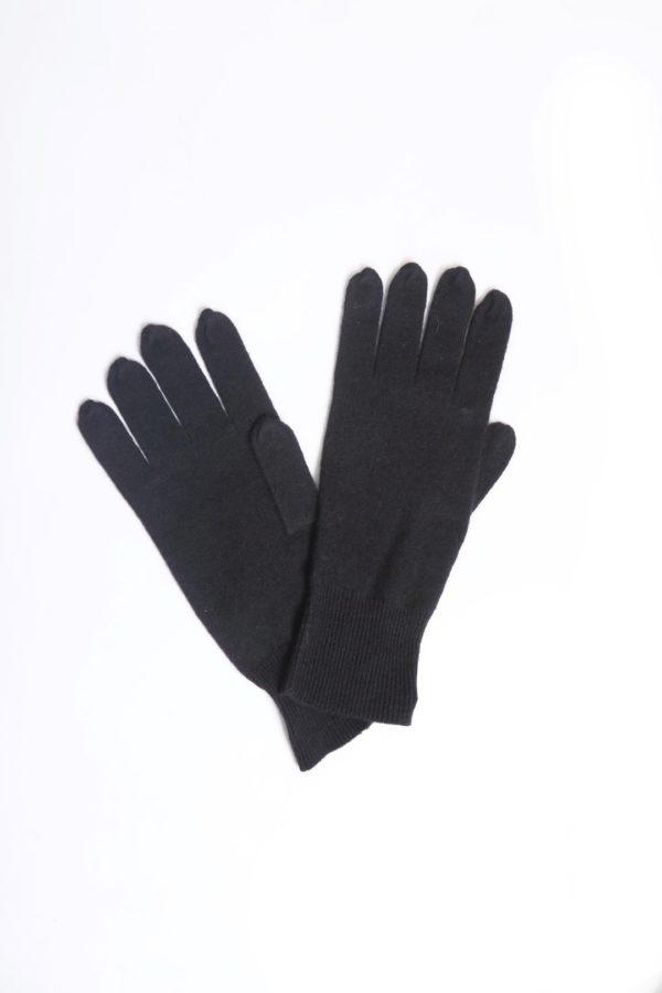 Gloves 100 % Cashmere black