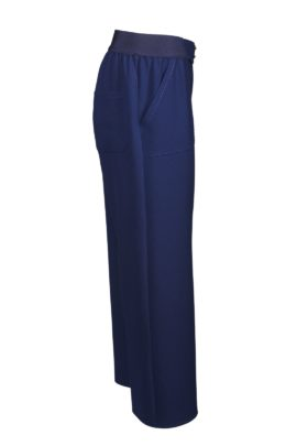Palazzo trousers, light navy