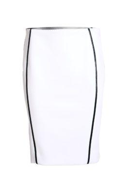 Classic Skirt white-black