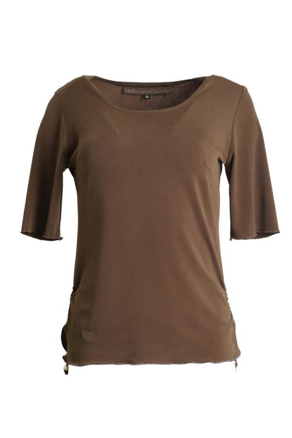 Shirt with drawstrings, savanna, uni KA