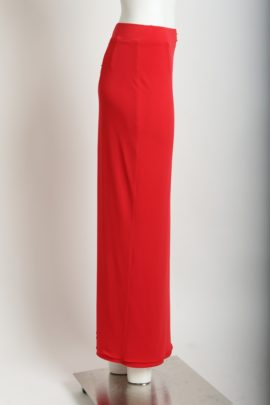Evening skirt Classic (micro jersey), red