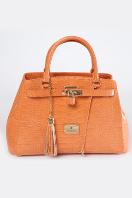 Cornet-Bag, light orange