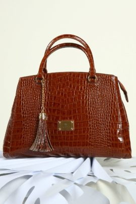 Cornet-Bag cognac