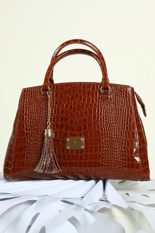 Cornet-Bag cognac