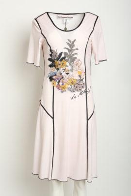 Dress garden Single Jersey embroidery