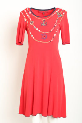 Dress maritim red