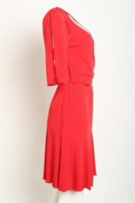 Dress red Jersey