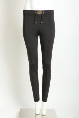 Classic logo pants, black