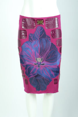Skirt purple with Maxi Malve