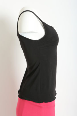 Top , Singlejersey, black