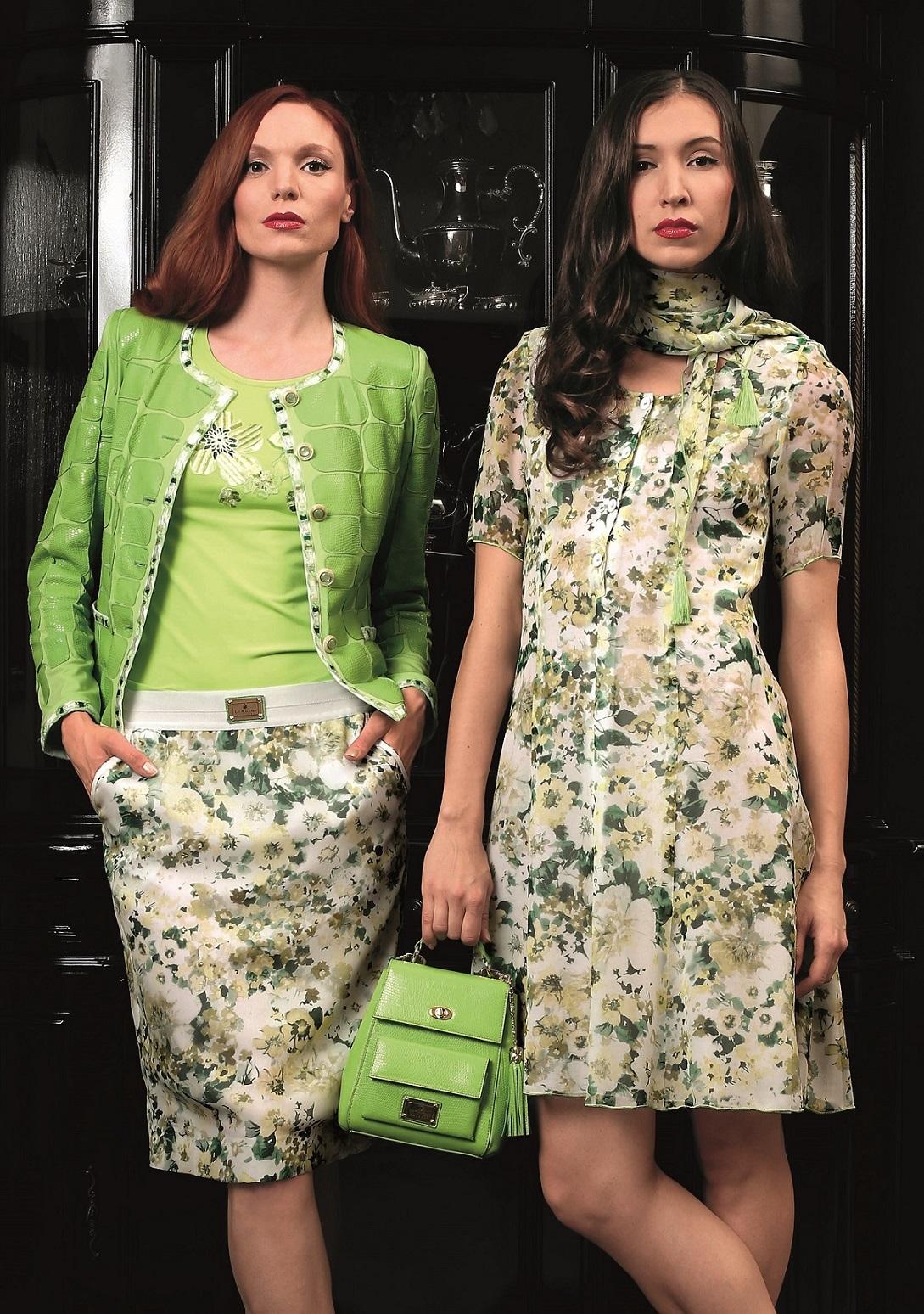 City Bag pure, may green