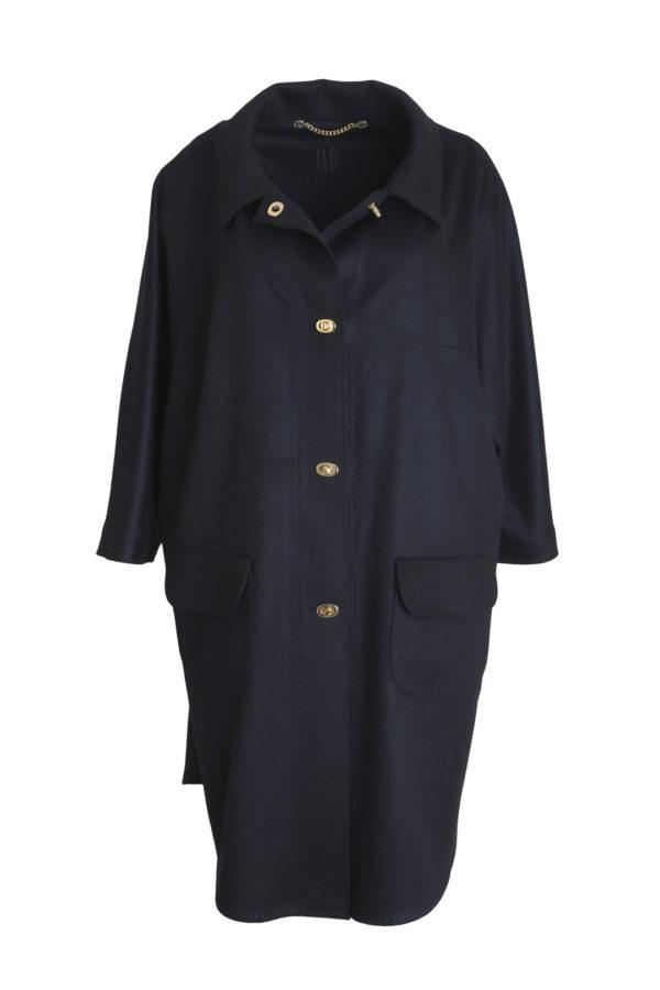 Coat, T-Cut Style, Merino Cashmere