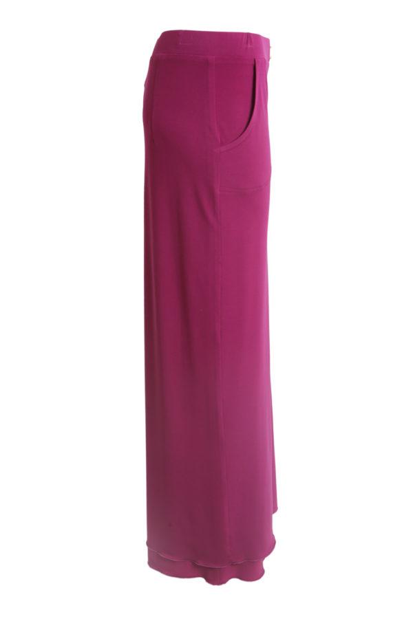 Evening skirt, single jersey