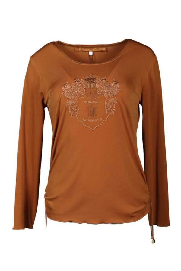 Couture shirt, LMD heraldry, long sleeve