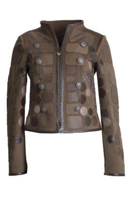 Spencer jacket savannah with cheetah