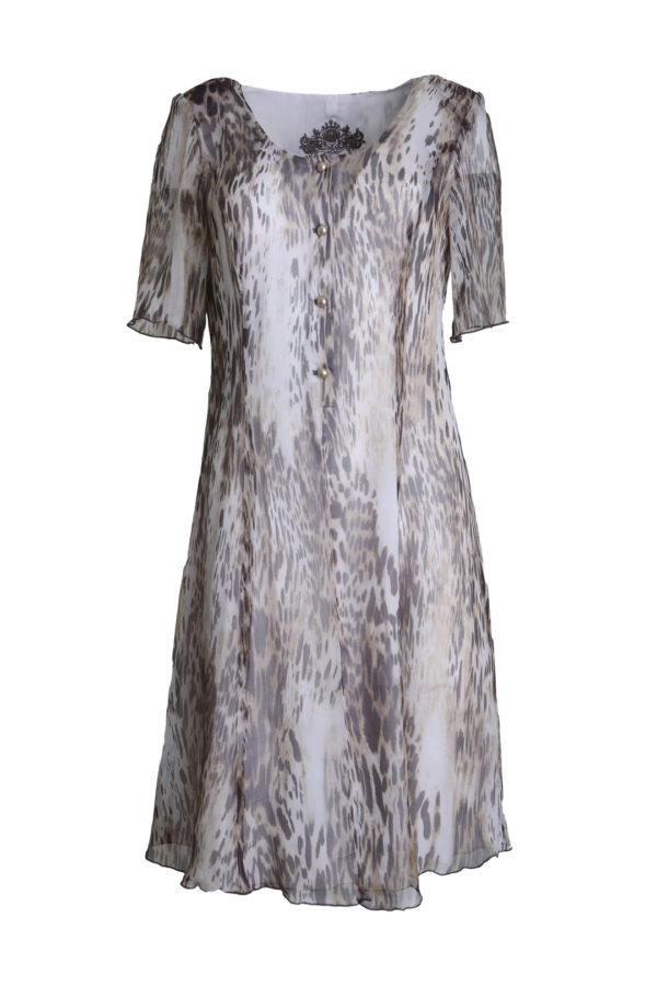 Dress savannah pure silk