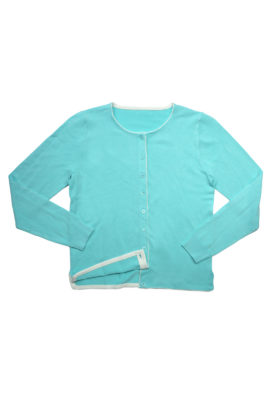 Cardigan viscose mint