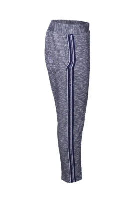 Wellness trousers with embroidered yoke