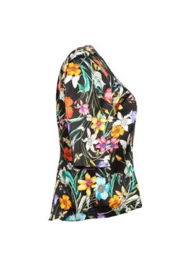 Blouse pure silk Masterart-print