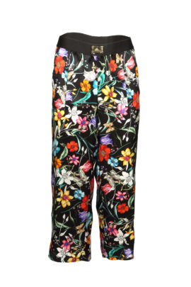 Pants pure silk Masterart-print