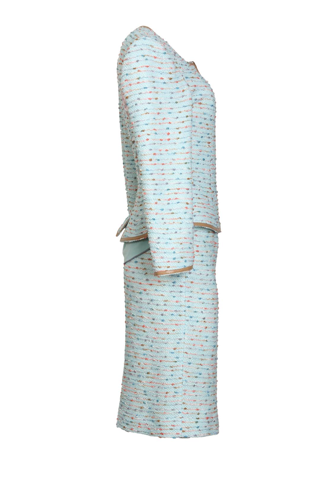 Bouclé skirt baccara