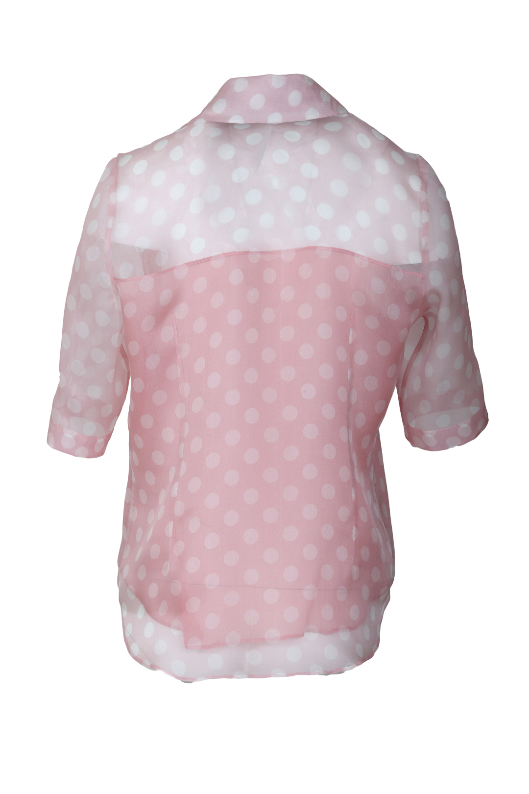 Blouse with incorporated top