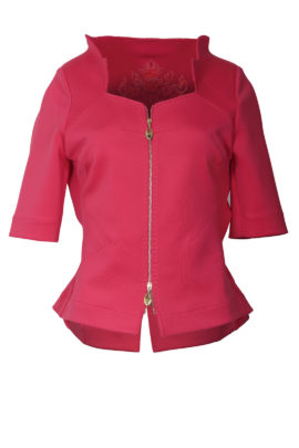 Spencer jacket with 8 buttons