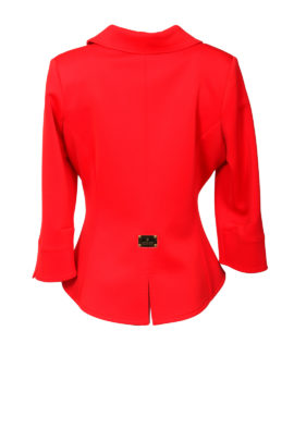 Jacket asymmetrical
