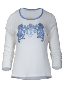 Shirt with ornamental embroidery
