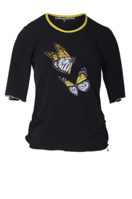 Shirt with butterfly