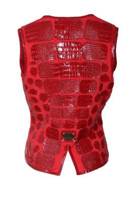 Croco vest summerstyle