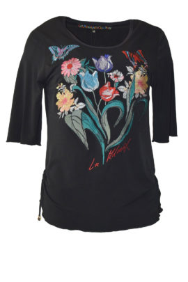 Shirt with Masterart-embroidery