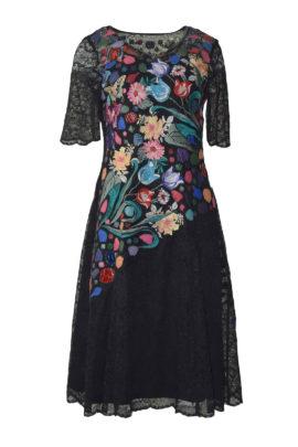 Dress Masterart elastic lace