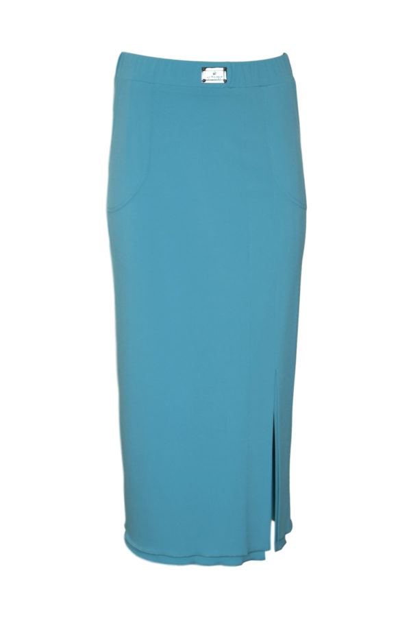 Skirt mid-length single jersey