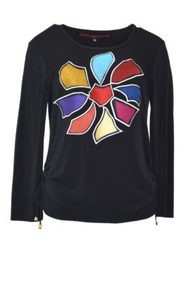 Shirt Frey style embroidery