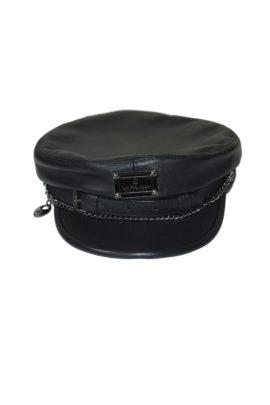 Leather cap with LMC Logo