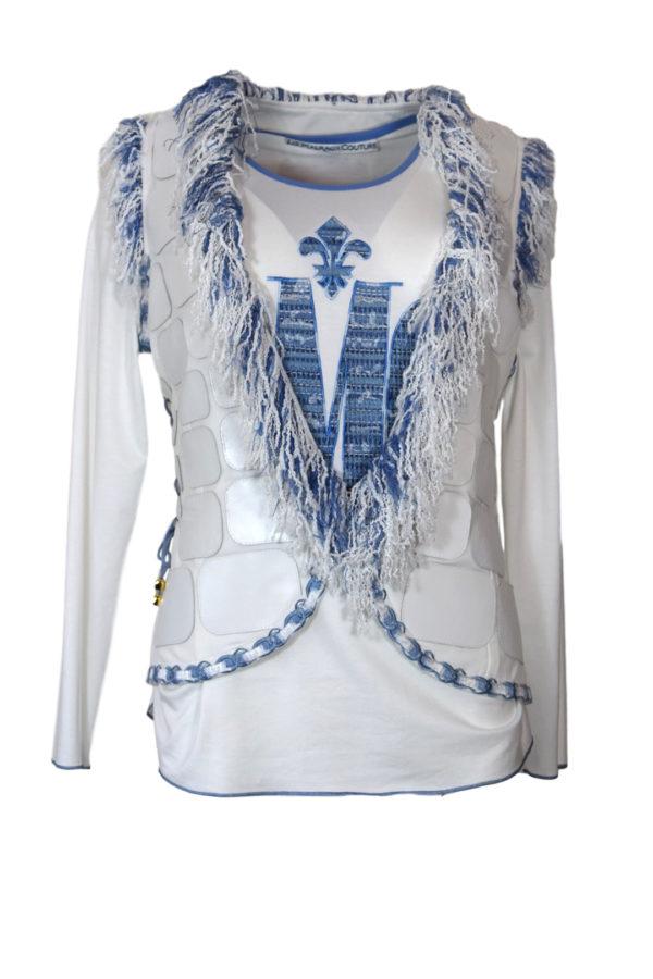 Shirt mit Bouclé - LMC-embroidery LA