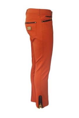 Jeans mit Zipp LMD-Logo